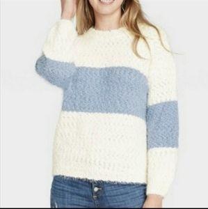 NWT! Knox Rose Stripe Sweater XL